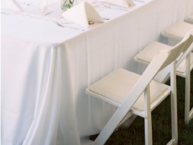 19 folding chair white wood