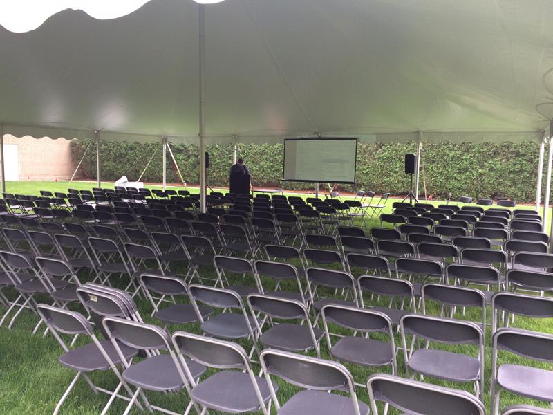 33 company meeting tent