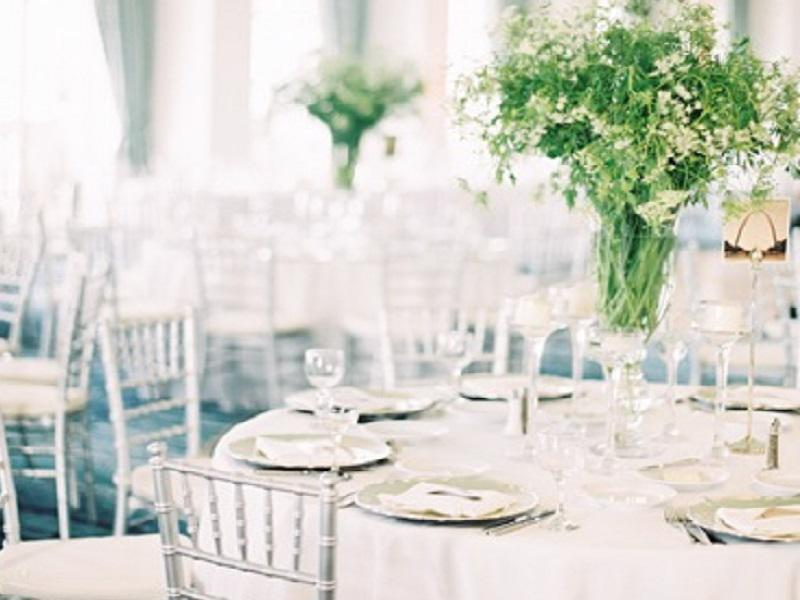 5 silver chiavari chair