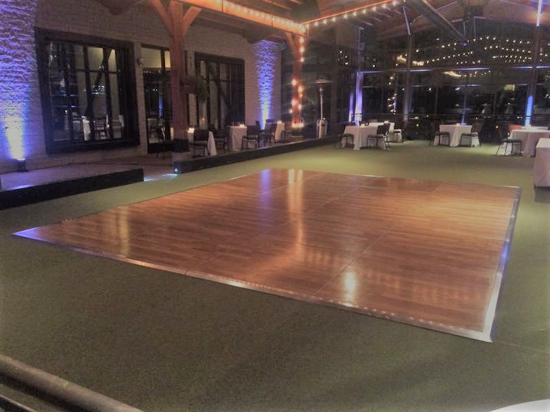 40 indoor dance floor