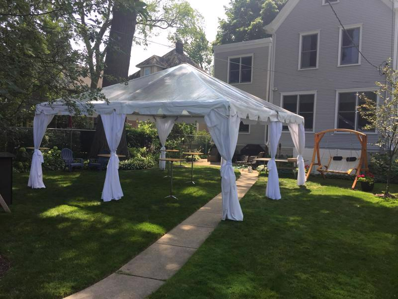 9 clear tent leg liners