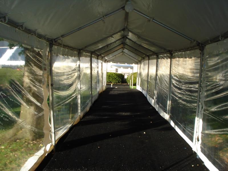 27 tent walkway with floor