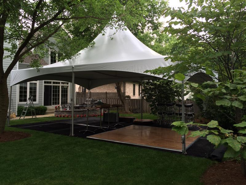 31 tent with dance floor