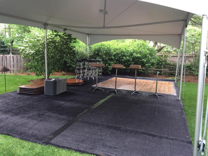 33 tent astro turf dance floor