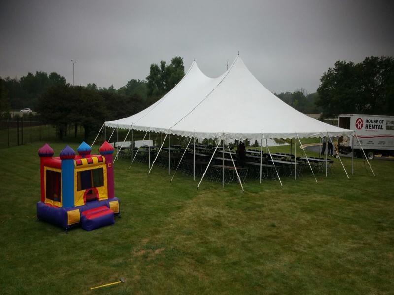 15 tent bouncy house rental