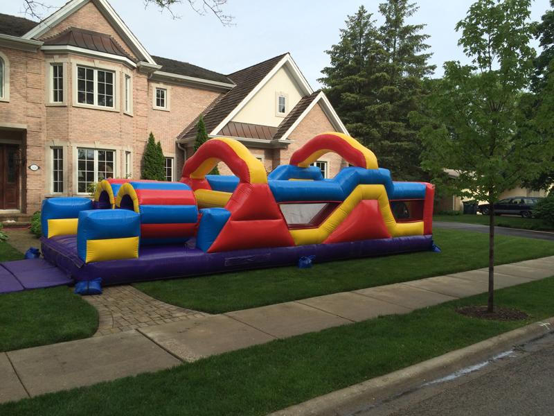 9 obstacle course rental