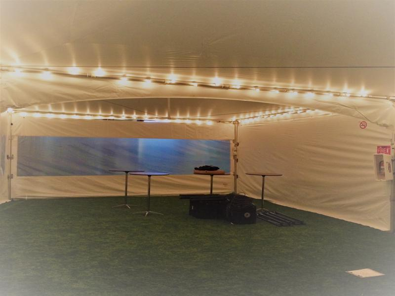 49 string lights tents
