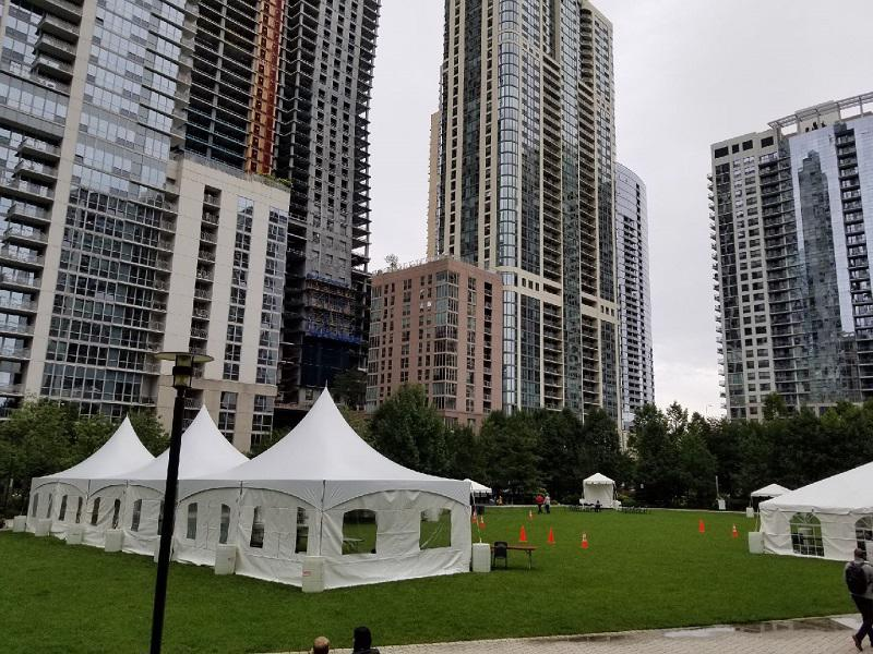 31 tent rental Chicago
