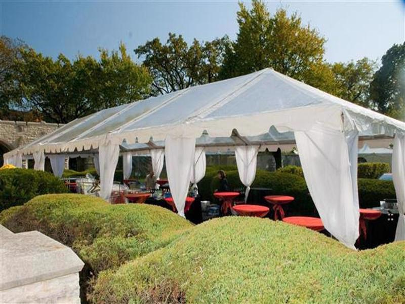 11 wedding tent clear top
