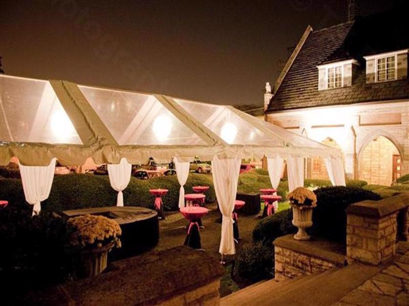 15 clear top wedding tent