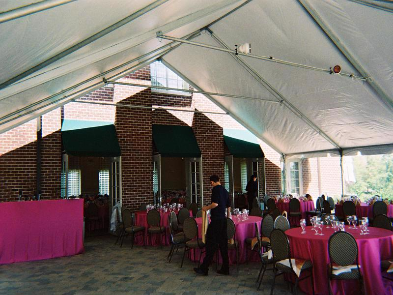 25 wedding party tent