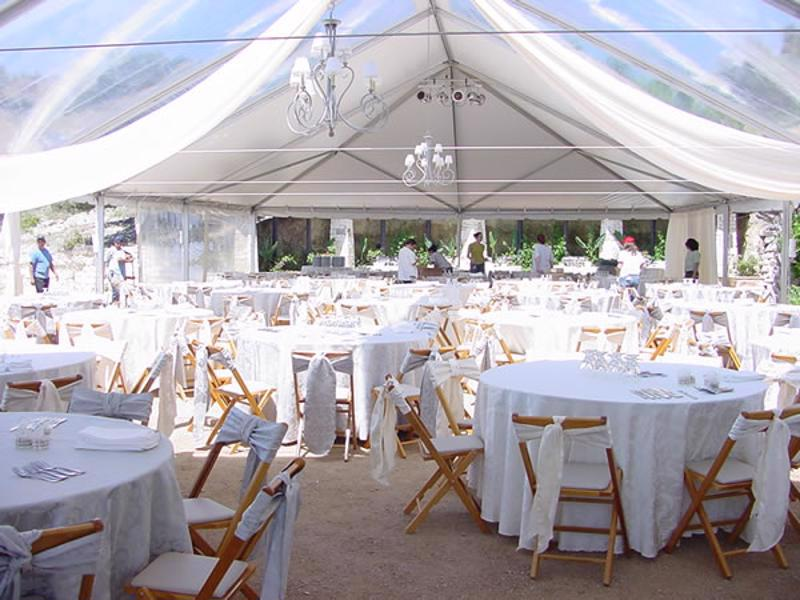 29 clear top wedding tent