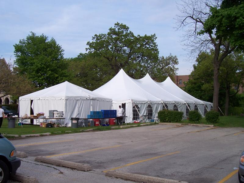 43 catering tent
