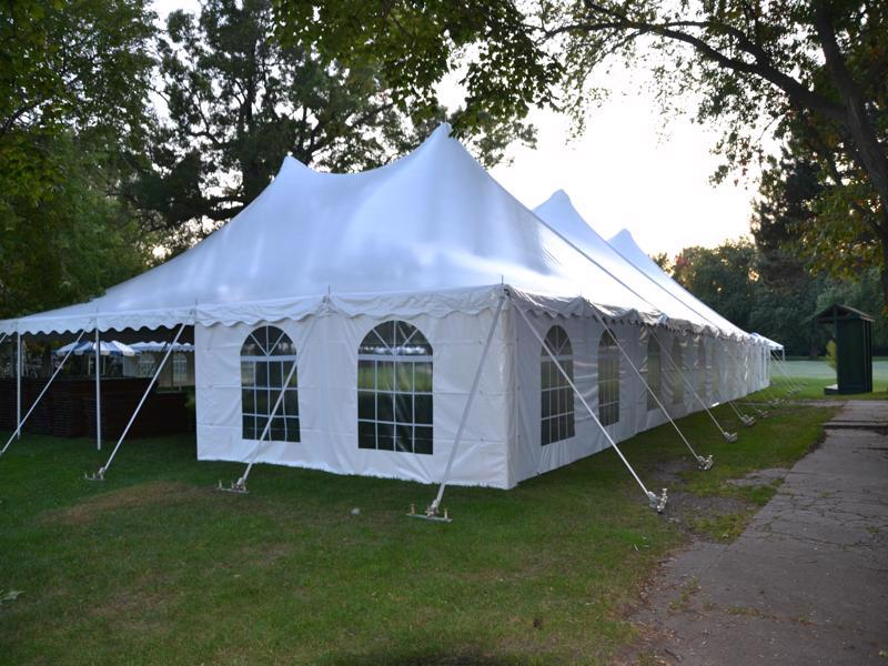 49 wedding tent golf course