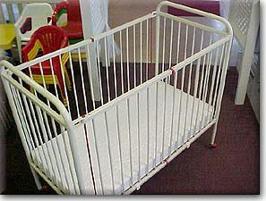 Where to find CRIB, 6 YEAR, 30x50 w mat in Chicago