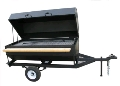 Rental store for BBQ, Propane - 72 x31  Towable - W Cover in Chicago IL