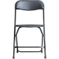 Rental store for CHAIR, FOLDING BLACK w  Black Legs in Chicago IL