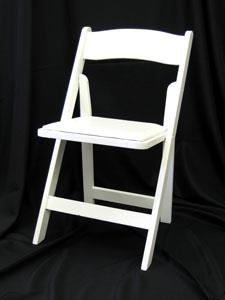 Where to find CHAIR, RESIN WHITE folding in Chicago