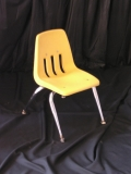 Where to rent CHAIR,  KIDS YELLOW STACKING in Chicago IL