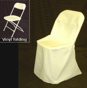 Where to find CHAIR COVER, WHITE SQUARE TOP poly in Chicago
