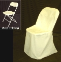 Where to rent CHAIR COVER, WHITE SQUARE TOP poly in Chicago IL