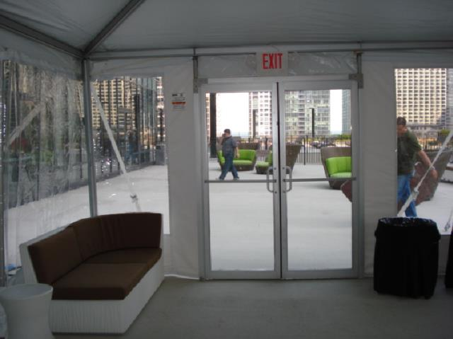 Door double glass 6 foot x7 foot tent rentals chicago il for Sideboard x7