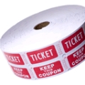 Where to rent RAFFLE TICKETS 2000 ROLL in Chicago IL