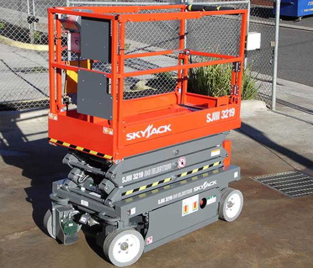 Lift Scissor 19ft Deck Rentals Chicago Il Where To Rent