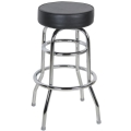 Rental store for BAR STOOL, Black naugahide in Chicago IL