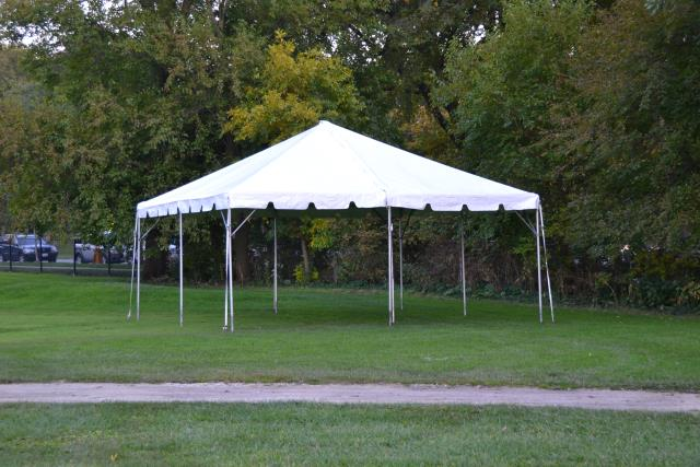 20x20 White Fiesta Frame Tent Rentals Chicago Il Where To