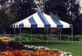 Rental store for 20x20, B W  2P  - FIESTA FRAME TENT in Chicago IL