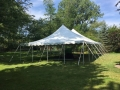 Rental store for 30x 45, WHITE - CENTURY POLE TENT in Chicago IL