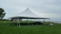 Rental store for 40x 40, WHITE - CENTURY POLE TENT in Chicago IL
