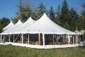 Where to rent 40x100, WHITE - CENTURY POLE TENT in Chicago IL