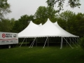 Rental store for 60x 60, WHITE - CENTURY POLE TENT in Chicago IL