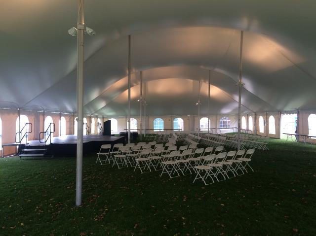 60x100 White Century Pole Tent Rentals Chicago Il Where