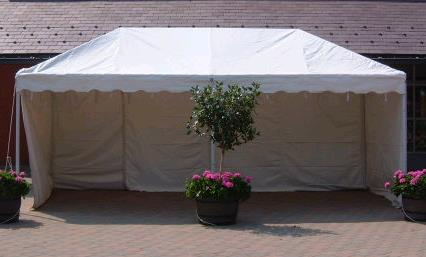 10x20 White Fiesta Frame Tent Rentals Chicago Il Where To