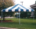 Rental store for 12x12, B W 1 P  - FIESTA FRAME TENT in Chicago IL