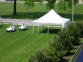 Where to rent 20X20, WHITE - ELITE POLE TENT in Chicago IL