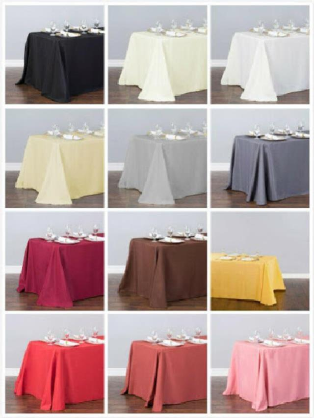 Where to find 8  - SKIRTLESS TABLE COVER COLLECTION in Chicago