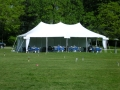 Where to rent 20x40, WHITE - ELITE POLE TENT in Chicago IL