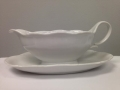 Where to rent CHINA GRAVY BOAT - LARGE - WHITE in Chicago IL