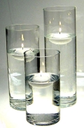 Where to rent CANDLE FLOATING, 3  ROUND in Skokie IL