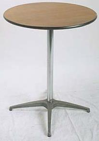 Where to find TABLE, 30  ROUND. HIGH BOY 42  TALL in Chicago