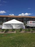 Where to rent 30x 30, WHITE - NAVI-LITE FRAME TENT in Chicago IL