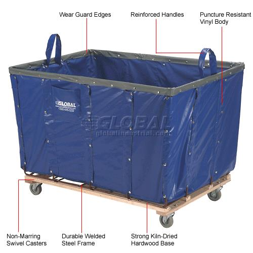 Where to find DOLLY, 48x32x30 VINYL LAUNDRY CART in Chicago