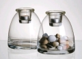Where to rent DOMED VOTIVE HOLDER, CLEAR GLASS in Chicago IL