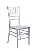 Where to rent CHAIR, CHIAVARI SILVER in Chicago IL