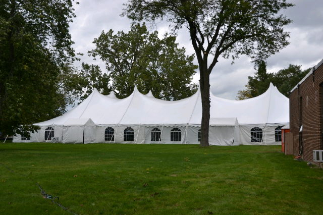 Where to find 60x160, WHITE - CENTURY POLE TENT in Chicago