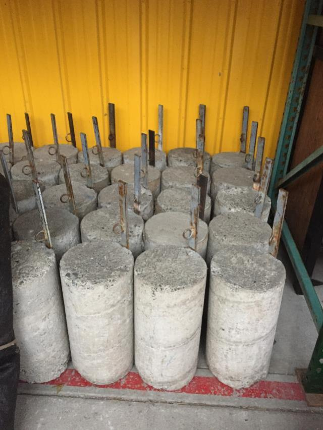 Where to find CONCRETE TUBE WEIGHT 85 LB in Chicago